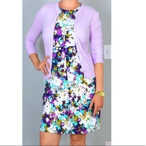 Lands' End flower print pocket sleeveless dress